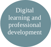 Image of digital learning and professional development